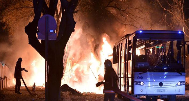 At Least 28 Dead In Turkish Capital Explosion