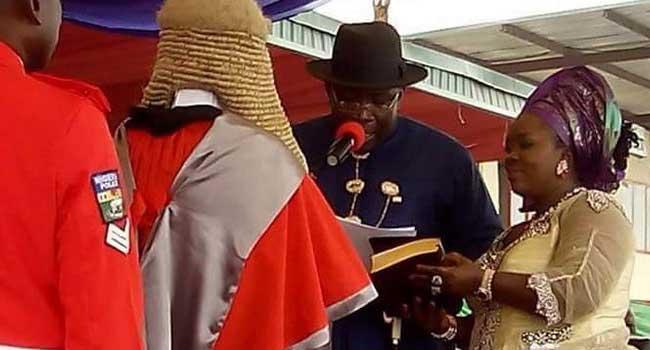 Governor Seriake Dickson Takes Oath Of Office
