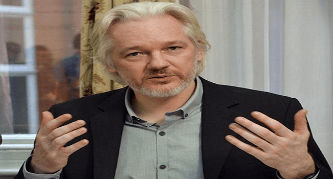 WikiLeaks' Assange 'Unlawfully Detained' In Ecuador Embassy