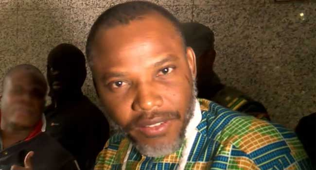Judge Withdraws From Nnamdi Kanu's Case