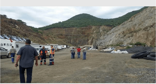 Three Missing, Eighty-Seven Rescued After South Africa Mine Collapse