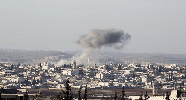 Air strikes Pound Syria's Aleppo, 'Calm' In Farther Southwest