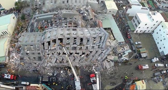 Taiwan Quake Kills At Least 12