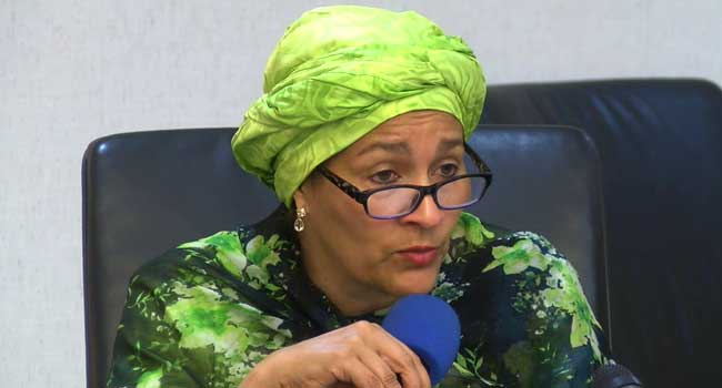 Amina Mohammed, United Nations