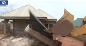 Gbagyi Villa building demolition