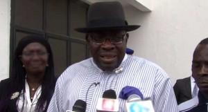 Bayelsa Governor on killer militants