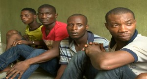 NSCDC Parades Eight Suspected Oil Thieves In Bayelsa