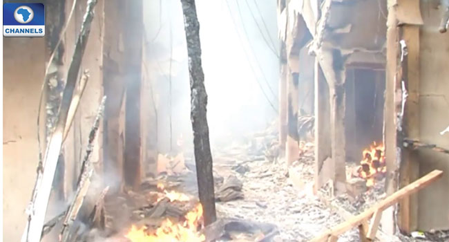 Buhari Sympathises With Victims Of Kano, Kebbi Market Fire Incidents