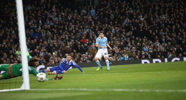 Manchester City Reach Champions League Quarter Finals