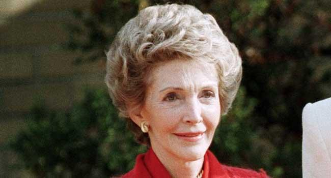 Former US First Lady, Nancy Reagan Dies