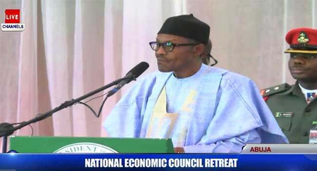 NEC Retreat: 10,000Mw Of Electricity Must Be Provided In Three Years – Buhari