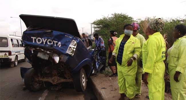 Lagos Accident: One Die On Otedola Bridge
