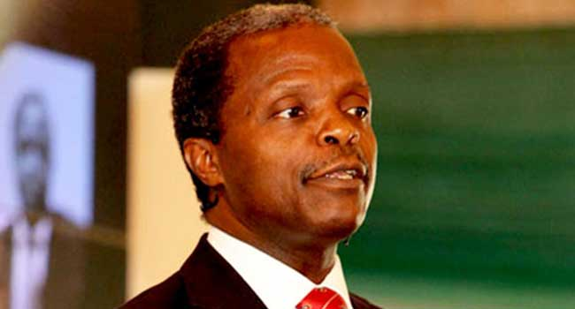 Prioritize Development Above Climate Change, Osinbajo Tasks African Leaders