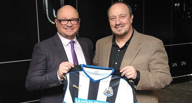 Rafa Benitez Confirmed As Newcastle Manager