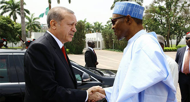 Buhari Holds Bilateral Talks With Turkish President