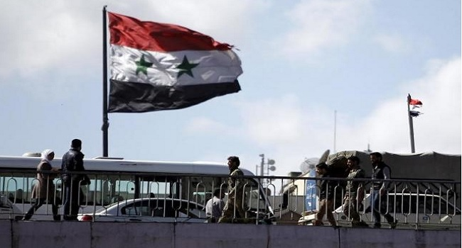 State TV Shows Russian Troops In Syria Packing Up