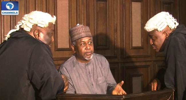 DSS Produces Dasuki In Court For Metuh's Trial