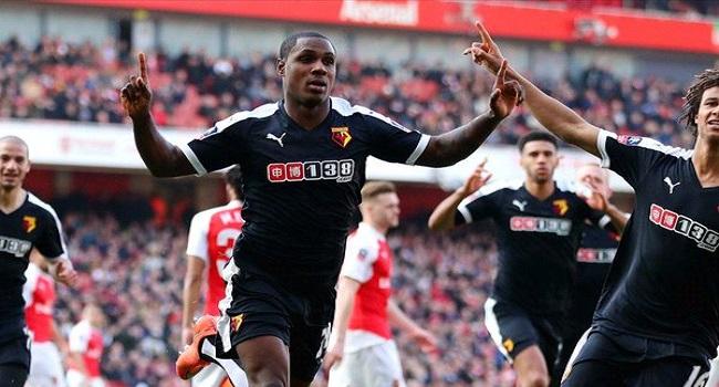 FA Cup: Watford Beat Arsenal To Book Semi-Final Ticket