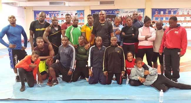 Nigeria Names 10 Wrestlers For Olympics Qualifier
