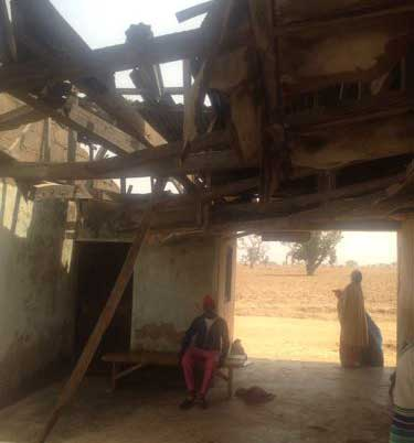 Dilapidated Primary Health Centre In Kaduna