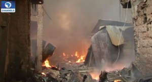 Victims Of Nnewi Timber Market Fire Accident Cry For Help
