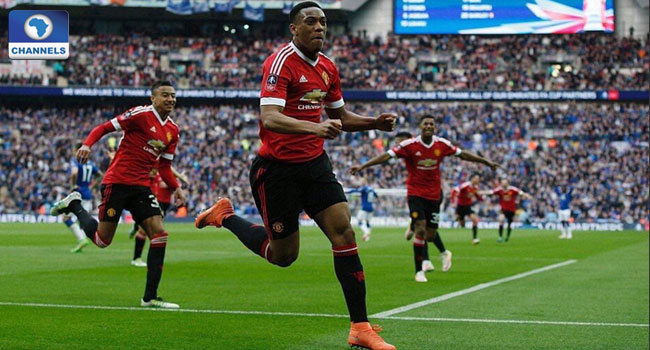 Martial's Late Goal Puts Manchester United Into FA Cup Final