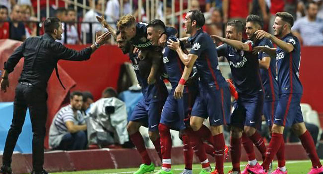 Simeone Charges Atletico Madrid Ahead Of King's Cup Semi-Final