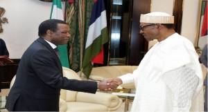 Buhari and Pierre Buyoya