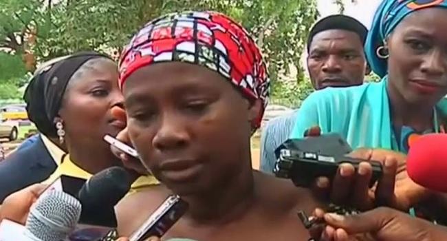 Member of Chibok Community Identifies Missing Girls In Video