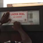 DPR seals petrol service station