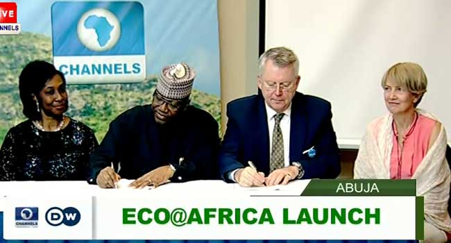 Channels TV, DW TV Launch Environmental Programme, Eco@Africa