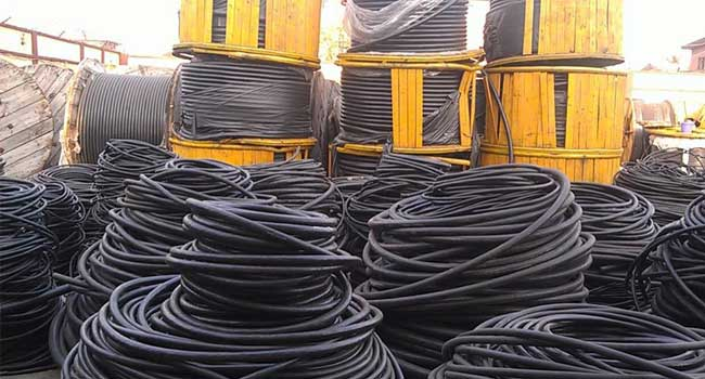 Standard Organisation Of Nigeria Confiscates Substandard Electric Cables