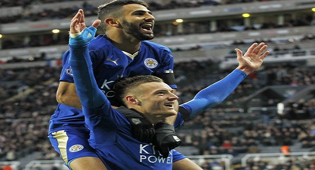 Mahrez, Vardy Dedicate PFA Awards To Teammates
