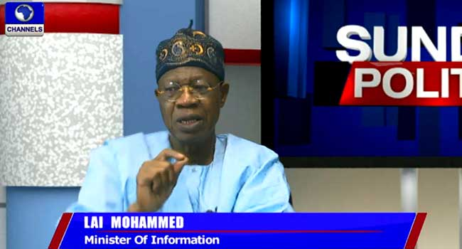 The Change You Voted For Is Real – Lai Mohammed
