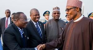 Muhammadu-Buhari-Arrives-China