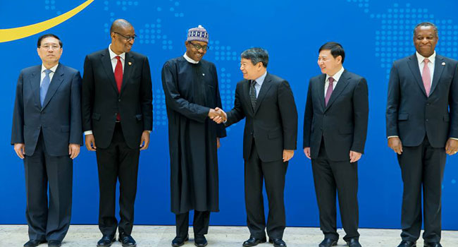 Buhari Attends Forum On China, Nigeria Production Capacity Cooperation