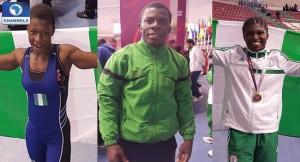 Nigerian-Wrestlers