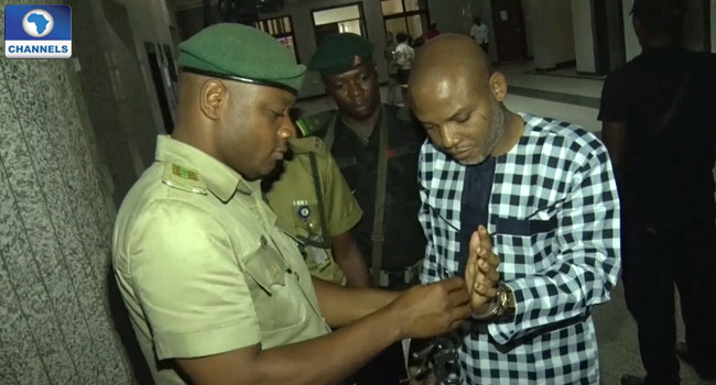 Trial Of Nnamdi Kanu Adjourned Till April 26