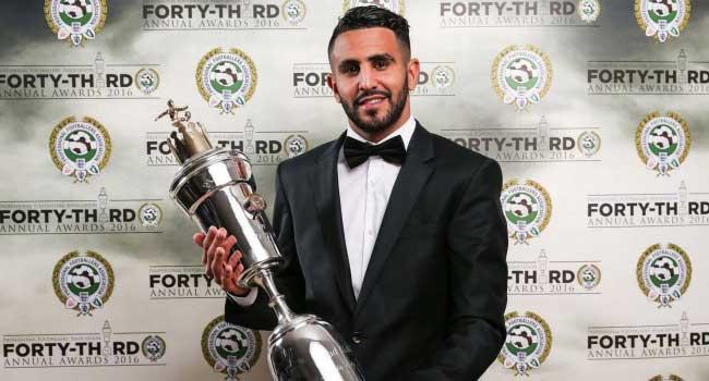 Riyad Mahrez Wins PFA Player Of The Year