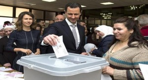 SYRIAN VOTE