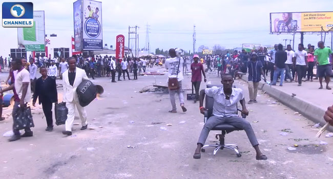 University Of Port Harcourt Students Protest Hike In Tuition