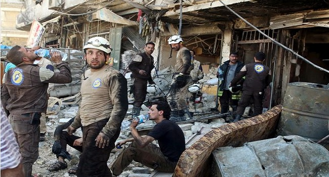 Syrian Government Strikes On Two Rebel-Held Areas Kill 23-Monitor