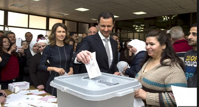 Syrians Vote For Parliament Denounced By Assad's Enemies
