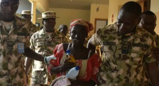 Rescued Chibok Girl In Abuja Says She Wants To Go Home