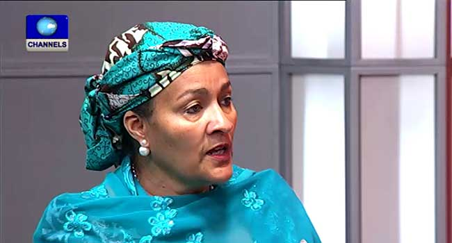 FEC Holds Valedictory Session For Amina Mohammed