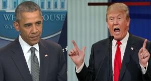 Barack- Obama Donald Trump