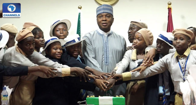 Child Rights: Saraki Asks School Children To Familiarise With The Constitution