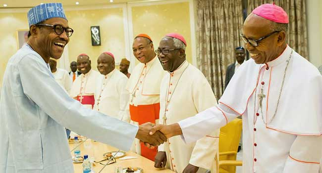 I Will Deal With Rampaging Herdsmen, Buhari Assures Bishops