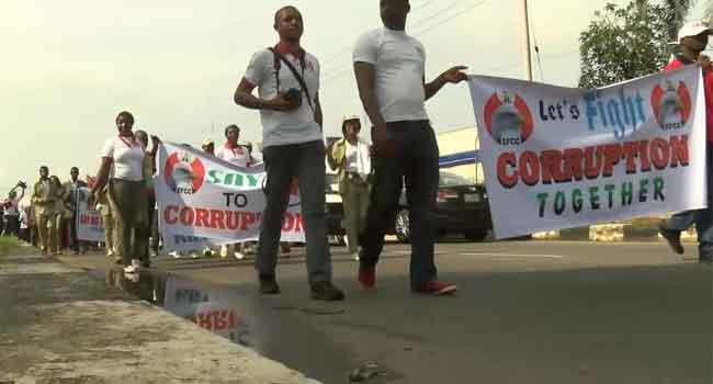 EFCC Leads Walk Against Corruption