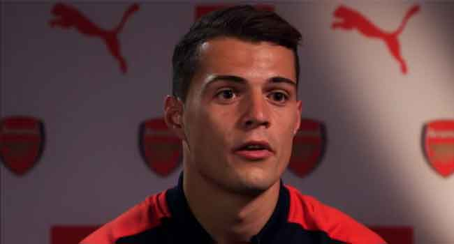 Xhaka Looks Forward To Arsenal's 'Family Atmosphere'